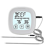 economico -TS-802A Portatile / Inteligente termometro del BBQ Display LCD retroilluminato, Misurazione della temperatura digitale