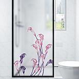 economico -Pellicole per vetri per vetri per vetri per la casa camera da letto con motivo floreale smerigliato Pellicole per vetri autoadesive
