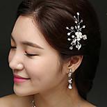 abordables -vente directe en usine d'accessoires pour cheveux de mariée, épingles à cheveux en strass perlé tissé à la main, pinces en forme de U, accessoires de coiffure à chaud transfrontaliers