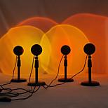 economico -lampada da tavolo a proiezione al tramonto a led lampada da tavolo a proiezione solare arcobaleno misura regolabile 26-38cm per camera da letto tiktok video di YouTube live streaming video shotting