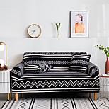 economico -2021 nuova elegante semplicità stampa copridivano elasticizzato divano tessuto super morbido retro vendita calda copertura whitecouch nera