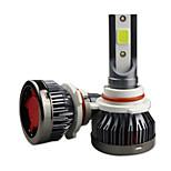 economico -OTOLAMPARA Auto LED Lampada frontale 9012 Lampadine 6400 lm COB 80 W 2 Per Universali Tutti i modelli Tutti gli anni 2 pezzi