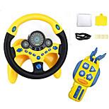 abordables -jouet volant - contrôleur de conduite simulé avec clés de voiture , jouet éducatif copilote pour enfants avec pilote de musique lumières - vieux meilleur cadeau pour les enfants de 2 ans et plus