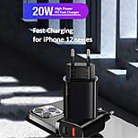 economico -USAMS 20 W Potenza di uscita USB USB C Caricatore PD Caricatore veloce Caricatore del telefono Caricabatterie portatile Caricabatteria di Muro QC 3.0 Ricarica veloce CE Per Xiaomi MI HUAWEI Apple