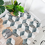 economico -creativo marmo mosaico esagonale pavimento antiscivolo adesivo in pvc cucina bagno pavimento impermeabile autoadesivo fai da te adesivo da parete rimovibile