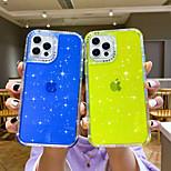 economico -telefono Custodia Per Samsung Apple Samsung Galaxy Per retro iPhone 12 Pro Max 11 SE 2020 X XR XS Max 8 7 Resistente agli urti Glitterato TPU