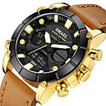 economico -smael orologio sportivo multifunzionale orologio da uomo al quarzo con cinturino da calendario impermeabile