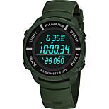 economico -orologio sportivo orologio digitale da uomo contapassi impermeabile studente orologio da corsa multifunzione grande schermo