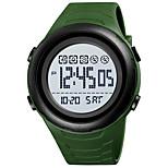 economico -SKMEI Per uomo Orologio sportivo Digitale Digitale Sportivo All'aperto Calendario Cronografo Allarme sveglia / Un anno / Silicone
