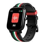 economico -696 MT2 Unisex Braccialetti intelligenti Bluetooth Schermo touch Monitoraggio frequenza cardiaca Misurazione della pressione sanguigna Chiamate in vivavoce Assistenza sanitaria Cronometro Pedometro