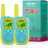 abordables -Talkies-walkies pour enfants, 22 canaux 2 voies radio enfant jouet cadeau 3 kms longue portée avec lampe de poche LCD rétro-éclairé meilleurs cadeaux jouets
