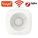 economico -tuya zigbee / wifi pir sensore di movimento rilevatore a infrarossi wireless sensore di allarme antifurto di sicurezza smart life app control compatibile