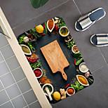 economico -Tappeto Multicolore Motivo Con Spezie Tappeto Porta Camera Da Letto Soggiorno Tappeto Sala Studio Tappeto Cucina Bagno Tappetino Antiscivolo