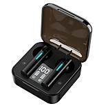 economico -T13 Auricolari wireless Cuffie TWS Bluetooth5.0 Stereo Con la scatola di ricarica Accoppiamento automatico per Apple Samsung Huawei Xiaomi MI Cellulare