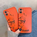 economico -Naruto telefono Custodia Per Apple Per retro iPhone 12 Pro Max 11 SE 2020 X XR XS Max 8 7 Resistente agli urti IMD Fantasia / disegno Naruto Cartoni animati TPU