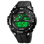 economico -SKMEI Per uomo Orologio sportivo Digitale Digitale Sportivo Moderno Cronografo Allarme sveglia Luce LED / Silicone