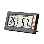 economico -TS-H10139 Mini / Portatile Igrometri Misurazione della temperatura e dell'umidità, Display LCD retroilluminato