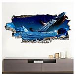economico -La decorazione della priorità bassa del corridoio di casa crollata della nave rotta 3d può essere rimossa gli adesivi