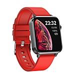 economico -696 E86 Unisex Bluetooth Monitoraggio frequenza cardiaca Misurazione della pressione sanguigna Calorie bruciate Con termometro Distanza del monitoraggio ECG + PPG Monitoraggio del sonno Allarme