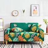 economico -2021 nuova elegante semplicità stampa copridivano elasticizzato divano tessuto super morbido retro vendita calda copridivano foglia verde