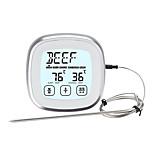 economico -TS-BN53-A Portatile / Inteligente termometro del BBQ con allarme di allarme, Display LCD retroilluminato, Misurazione della temperatura digitale