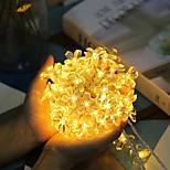 abordables -LED fleur de pêche lumières décoration lampes 3m 6m chaîne cerise arbre de noël jardin festival feston guirlande paysage lampe chambre fenêtre décoration