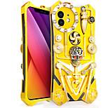 economico -telefono Custodia Per Apple Per retro iPhone 12 Pro Max 11 SE 2020 X XR XS Max 8 7 6 Resistente agli urti A prova di sporco Fantasia / disegno Geometrica Armatura Metallo