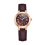 economico -orologio da donna impermeabile in retro orologio da studente con cinturino in scala romana
