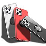 economico -telefono Custodia Per Apple Per retro iPhone 12 Pro Max 11 SE 2020 X XR XS Max 8 7 Resistente agli urti A prova di sporco Supporto ad anello Transparente PC