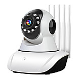 economico -Telecamera ip 1080p wifi telecamera di sicurezza domestica intelligente senza fili telefono cellulare domestico remoto telecamera intelligente per visione notturna con visione notturna