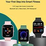 economico -smartwatch p6 per telefoni Apple / Android, supporto per tracker sportivo misurazione della frequenza cardiaca / pressione sanguigna