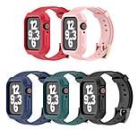 economico -Cinturino intelligente per Apple  iWatch 1 pcs Banda di affari Silicone Sostituzione Custodia con cinturino a strappo per Apple Watch Serie SE / 6/5/4/3/2/1
