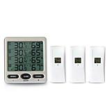 economico -TS-WS-10 Mini / Portatile Igrometri Misurazione della temperatura e dell'umidità, Display LCD retroilluminato, Allarme alta / bassa temperatura