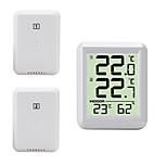 economico -TS-FT0421 Portatile / Multi-funzione Igrometri Misurazione della temperatura e dell'umidità, Display LCD retroilluminato