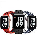 economico -Cinturino intelligente per Apple  iWatch 1 pcs Cinturino sportivo Silicone Sostituzione Custodia con cinturino a strappo per Apple Watch Serie SE / 6/5/4/3/2/1