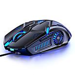 economico -6d abbagliante incandescente 1.42 m cablato meccanico e-sport mouse da gioco per computer ottico da 3200 dpi mause per laptop desktop gamer office