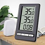 economico -TS-WS-47 Portatile / Multi-funzione Igrometri Misurazione della temperatura e dell'umidità, Display LCD retroilluminato