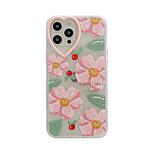 economico -telefono Custodia Per Apple Per retro iPhone 12 Pro Max 11 SE 2020 X XR XS Max 8 7 Resistente agli urti A prova di sporco Pop art Fiore decorativo TPU