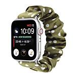 economico -Cinturino intelligente per Apple  iWatch 1 pcs Bracciale stampato Fascia elastica Flanella Sostituzione Custodia con cinturino a strappo per Apple Watch Serie SE / 6/5/4/3/2/1