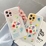 economico -telefono Custodia Per Apple Per retro iPhone 12 Pro Max 11 SE 2020 X XR XS Max 8 7 Resistente agli urti A prova di sporco Fiore decorativo TPU