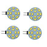 economico -led bi-pin 2 pezzi 2 w luci 200 lm g4 6 perline led smd 5730 bianco caldo bianco naturale bianco 9-30 v