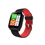 economico -F16 ECG Intelligente Guarda IP 67 Impermeabile Schermo touch Monitoraggio frequenza cardiaca ECG + PPG Timer Cronometro Cassa dell'orologio da 32,5 mm per Android iOS Uomini donne / Sportivo