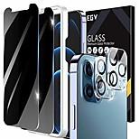economico -telefono Proteggi Schermo Per Apple iPhone 12 iPhone 11 iPhone 12 Pro Max iPhone 11 Pro iPhone 11 Pro Max Vetro temperato 4 pezzi Anti-graffi Proteggi-schermo frontale Appendini per cellulare