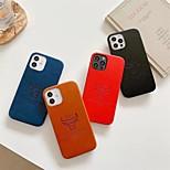 economico -telefono Custodia Per Apple Per retro iPhone 12 Pro Max 11 SE 2020 X XR XS Max 8 7 Resistente agli urti A prova di sporco Tinta unita Animali pelle sintetica