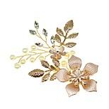 abordables -Fait à la Main Mariée Alliage Coiffe avec Fleur 1 PC Mariage / Fête / Soirée Casque