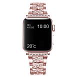 economico -Cinturino intelligente per Apple  iWatch Stile dei gioielli Lega di zinco Sostituzione Custodia con cinturino a strappo per Apple Watch Serie SE / 6/5/4/3/2/1