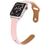 economico -Cinturino intelligente per Apple  iWatch 1 pcs Chiusura classica Vera pelle Sostituzione Custodia con cinturino a strappo per Apple Watch Serie SE / 6/5/4/3/2/1