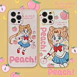 economico -Sailor Moon telefono Custodia Per Apple Per retro iPhone 12 Pro Max 11 SE 2020 X XR XS Max 8 7 Resistente agli urti A prova di sporco Cartoni animati TPU