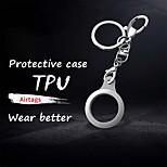 economico -custodia protettiva per apple airtags tracker tpu cover protettiva anti-smarrimento anti-graffio soft shell per localizzatore tracker smart accessori