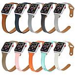 economico -Cinturino intelligente per Apple  iWatch Chiusura classica Vera pelle Sostituzione Custodia con cinturino a strappo per Apple Watch Serie SE / 6/5/4/3/2/1